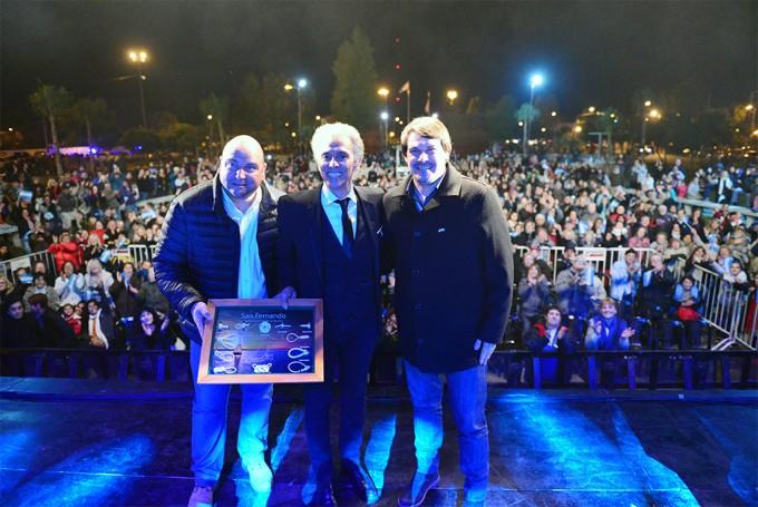 Jairo cerró un inolvidable Día de la Patria para todos los sanfernandinos