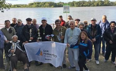 Se realizó el primer Torneo de Pesca del año en la costanera de San Fernando