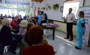 Siguen los talleres nutricionales en Centros de Jubilados de San Fernando