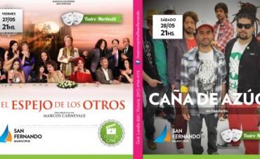 Cine Nacional gratuito y música en la última semana de mayo del Teatro Martinelli