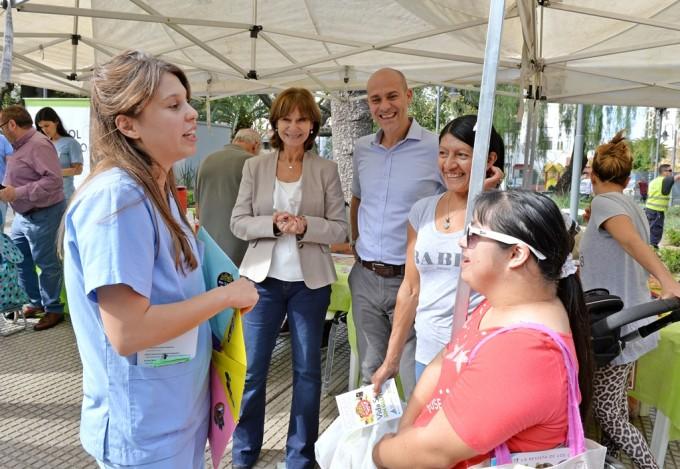 """San Fernando organizó una concurrida actividad por el """"Día del Celíaco"""""""