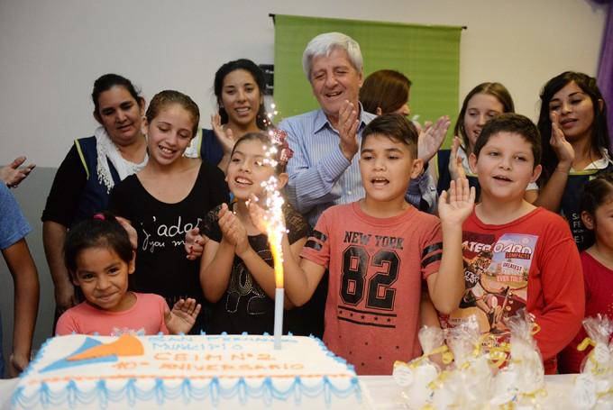 Luis Andreotti festejó el 10° Aniversario del CEIM N° 2