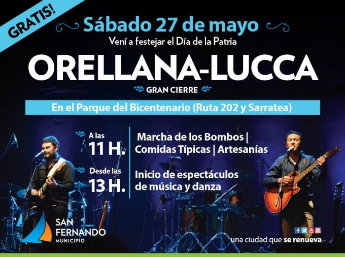 San Fernando celebrará el 25 de Mayo con un show artístico