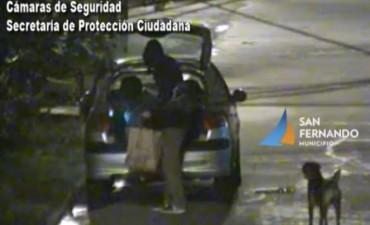 San Fernando: luego de una persecución, un hombre fue detenido por robar un vehículo