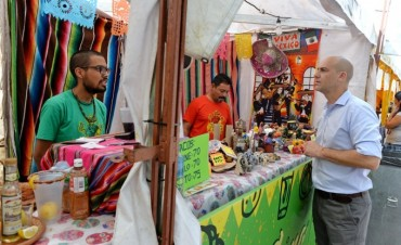 En San Fernando, finalizó otra exitosa edición de la Feria de las Colectividades