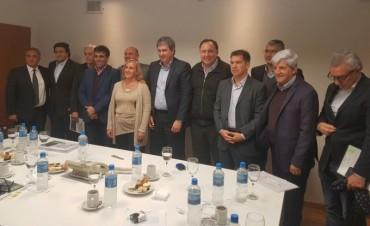 Andreotti y Gigante convinieron la restauración de adoquines y obras hidráulicas en San Fernando