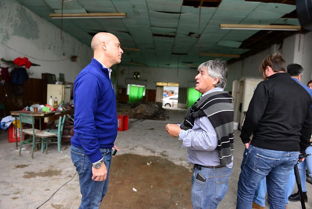 San Fernando: Avanza la remodelación integral del Club 13 de julio del barrio Alvear