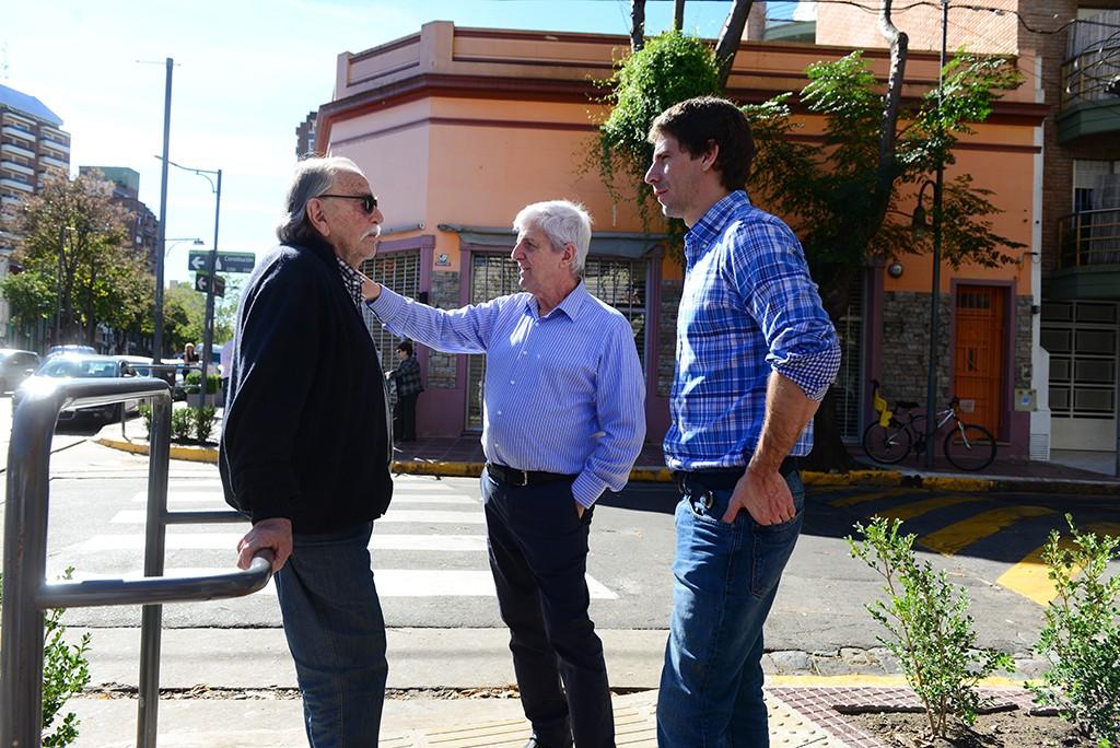 San Fernando llegó a las 150 cuadras renovadas en centros comerciales