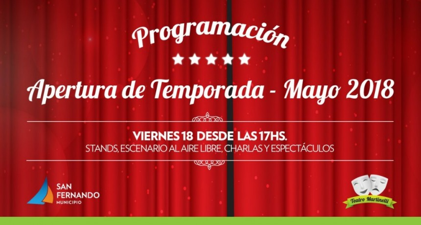El Teatro Martinelli inaugura la temporada 2018 con grandes novedades