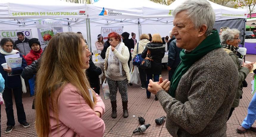 """San Fernando organizó una jornada de concientización por el """"Día del Celíaco"""""""