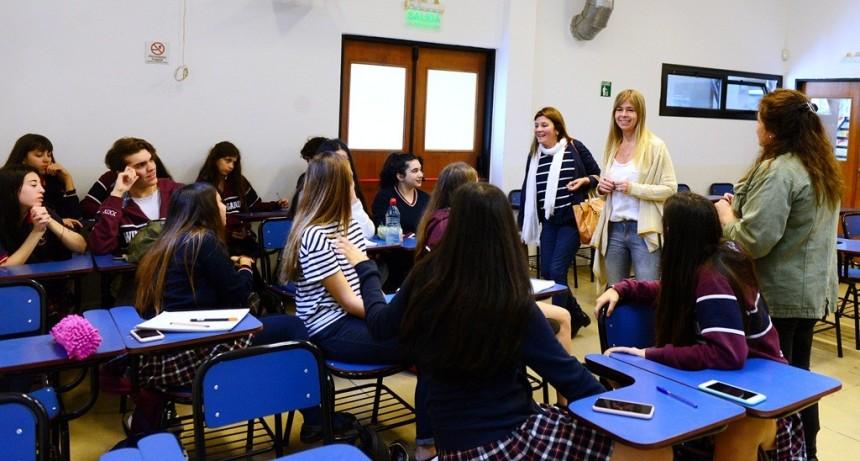 Los alumnos de las Pasantías de San Fernando tuvieron un Taller de Introducción al Mundo Laboral