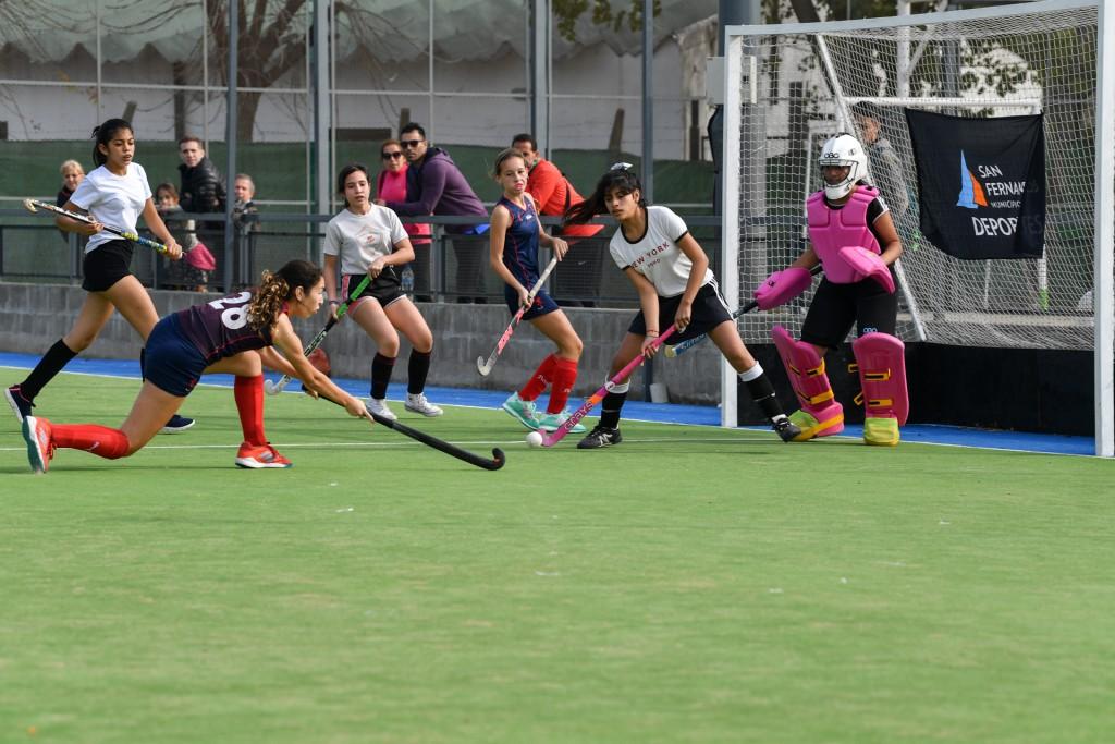 El hockey sanfernandino también comenzó su etapa clasificatoria a los Juegos Bonaerenses 2019