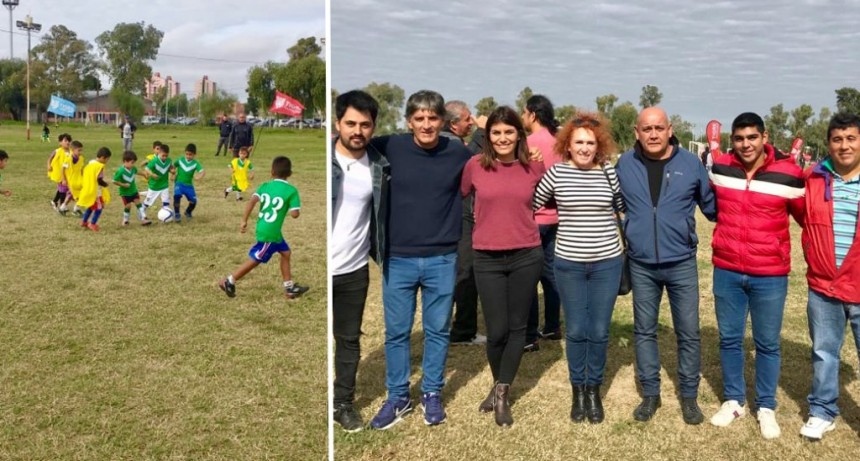 Tigre: Se lanzó la Liga de Baby Fútbol Municipal