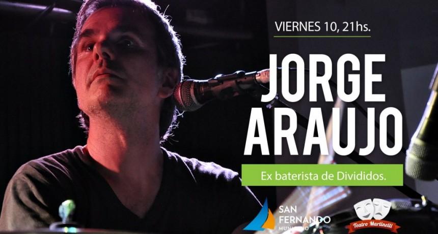 Este finde, llegan el baterista Jorge Araujo y la película clásica 'Cinema Paradiso' en el Teatro Martinelli