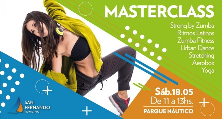Llega una masterclass abierta de fitness en el Parque Náutico de San Fernando