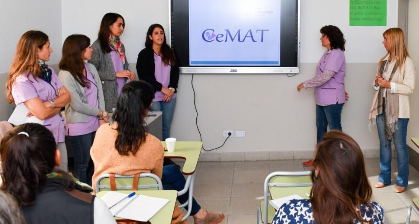 El CEMAT de San Fernando capacitó a docentes sobre los signos de estimulación temprana