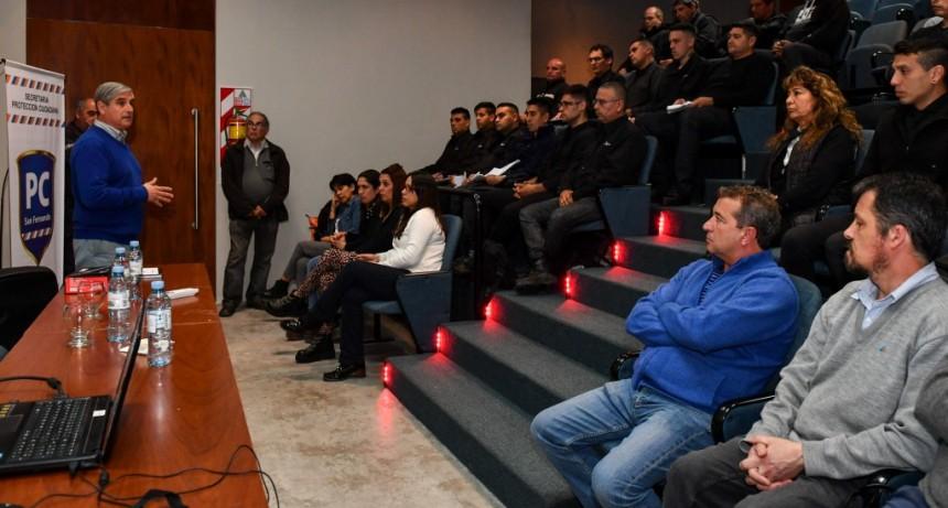 Se sumó y capacitó nuevo personal para Protección Ciudadana de San Fernando