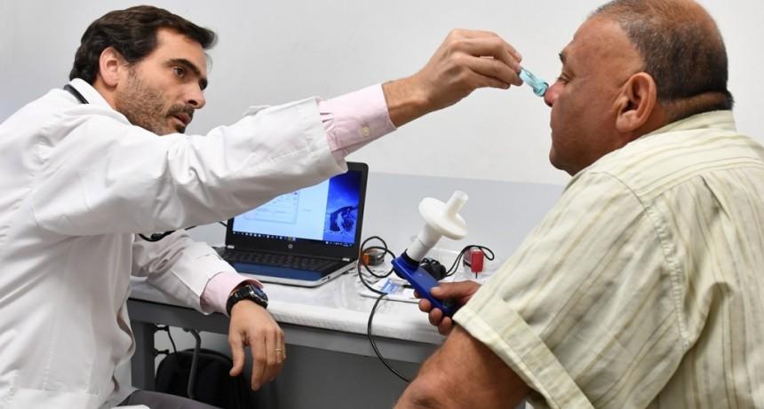 En San Fernando, los vecinos con asma o EPOC ya pueden atenderse en el Centro de Salud Bertrés