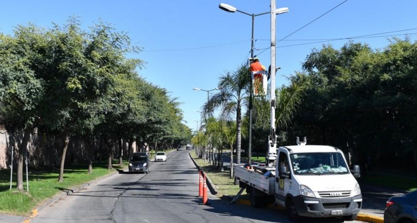 San Fernando continúa instalando cámaras de seguridad en todo el distrito