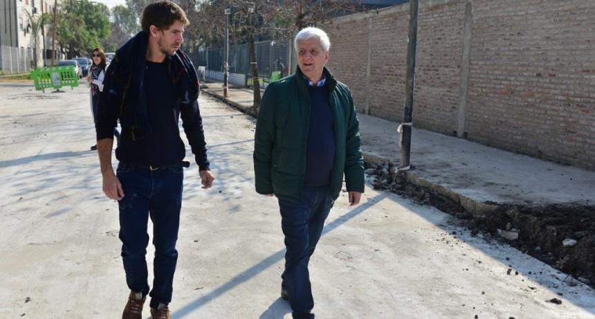 San Fernando continúa renovando las calles del distrito