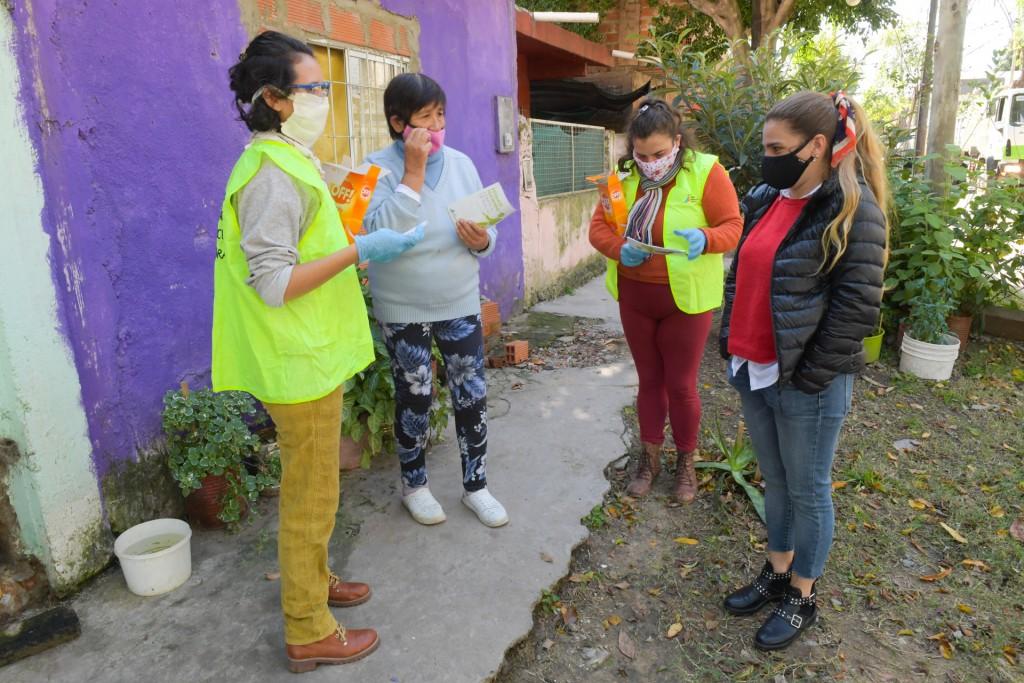 San Fernando continúa la prevención del dengue con fumigación, repelentes e información
