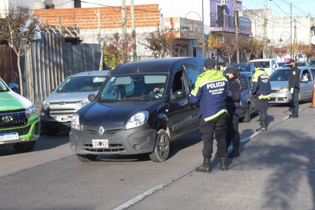 San Fernando sigue los controles de seguridad y secuestra vehículos sin permiso de circulación