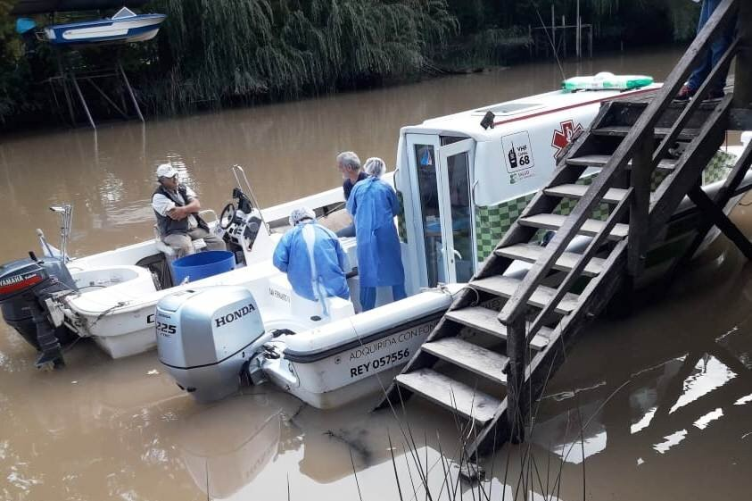 El Municipio de San Fernando continúa con los operativos de Salud en el Delta