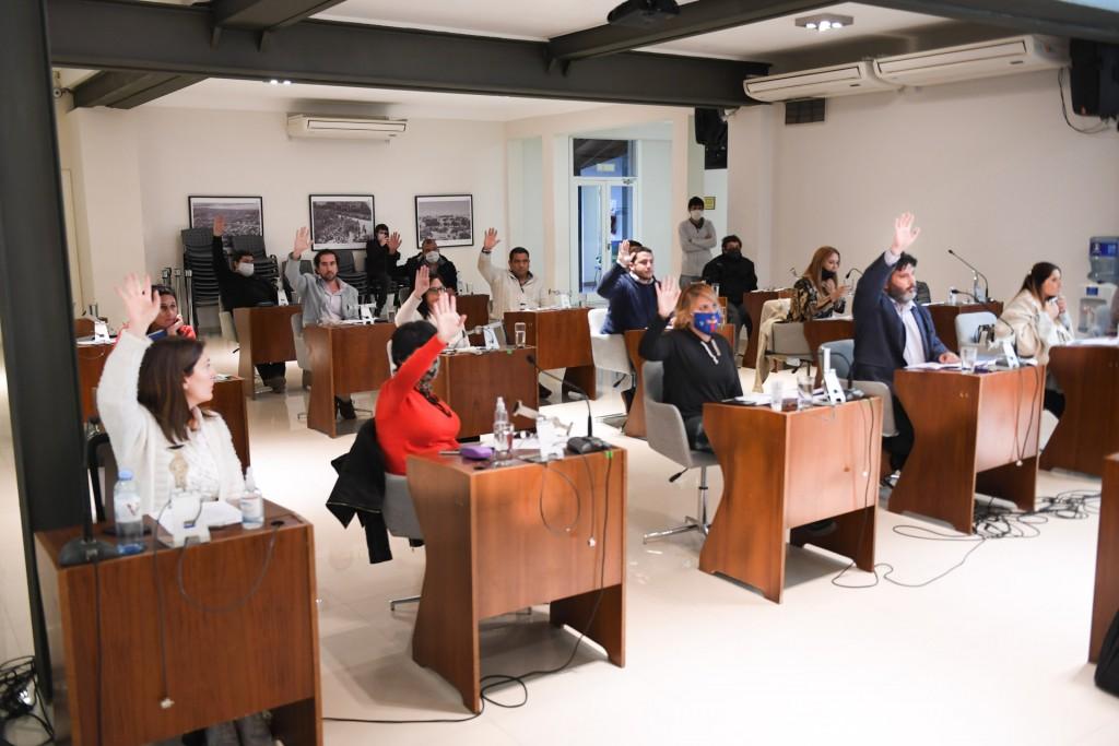 Concejales de San Fernando aprobaron el convenio entre la AABE y el Municipio para la creación de una Reserva Ecológica Educativa