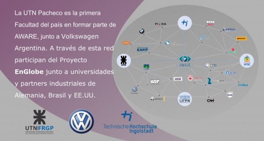 UTN FRGP es la primera facultad Argentina en formar parte del proyecto EnGlobe, junto a Volkswagen