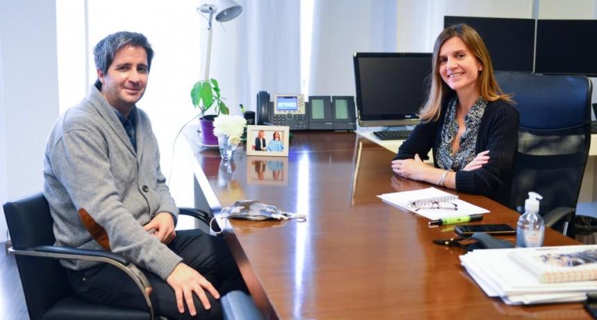 FERNANDA RAVERTA Y LISANDRO CLERI COINCIDIERON EN LA IMPORTANCIA DE UNA ANSES MÁS CERCANA A LOS ARGENTINOS