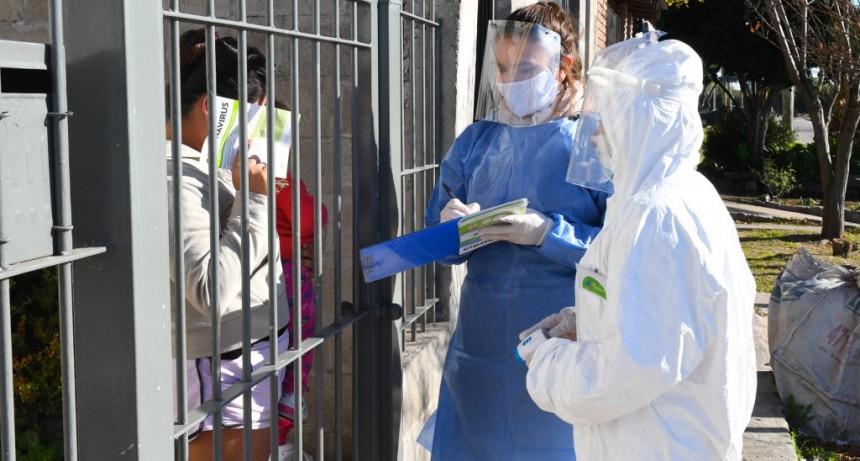 San Fernando: continúan los operativos integrales de prevención contra coronavirus y dengue en barrios