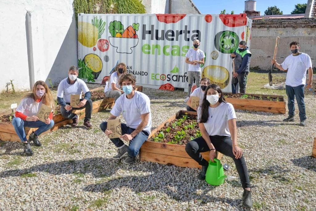 """Juan Andreotti lanzó la 3ra edición de """"Huerta en Casa"""", para obtener semillas de temporada"""