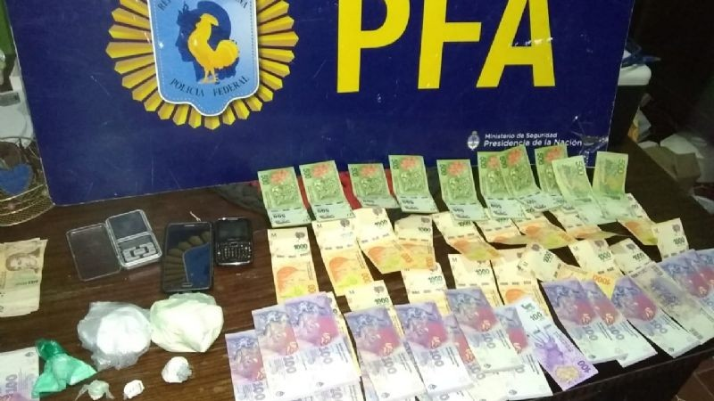 La Policía Federal desarticuló una organización criminal dedicada al narco delivery en San Fernando.
