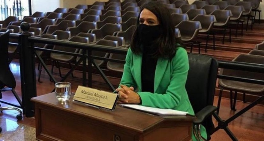 """Mayra Mariani: """"Debemos proteger esta zona tan preciada para todos y todas las tigrenses que es el Delta"""""""