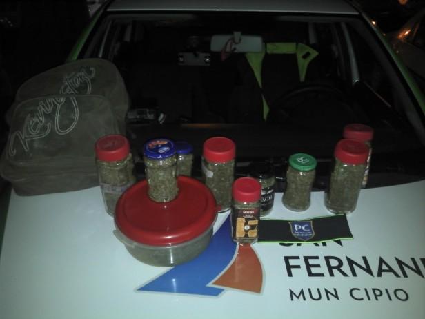 San Fernando: Personal de patrulla de Protección Ciudadana detiene agresión contra una mujer, incautando además medio kilo de marihuana