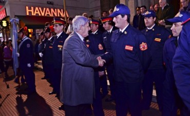 Fueron bendecidas las dos nuevas unidades incorporadas por los Bomberos Voluntarios de San Fernando