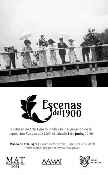 """""""Escenas del 1900"""" llega al MAT"""