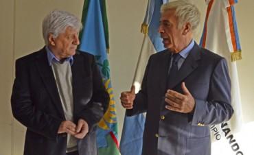 Luis Andreotti recibió en San Fernando al Gobernador de Córdoba, José Manuel De la Sota