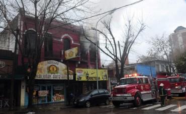 El COT controló un incendio en Tigre