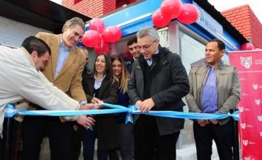 Llegó el primer cajero automático a Rincón de Milberg