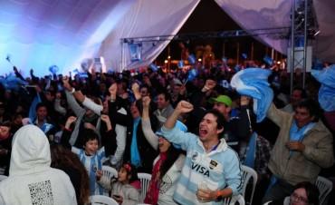 El triunfo de la selección Argentina se vivió en Tigre