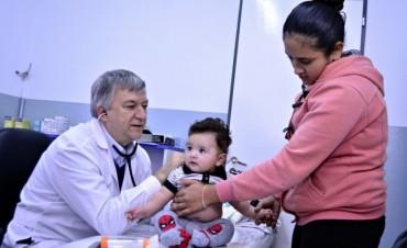 Exitosa primera etapa del programa IRAB para prevenir infecciones respiratorias en los niños de San Fernando