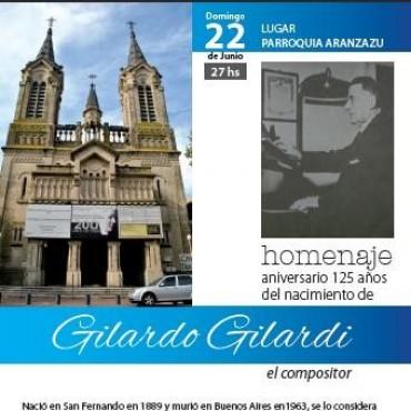 Tributo al destacado compositor nacido en San Fernando