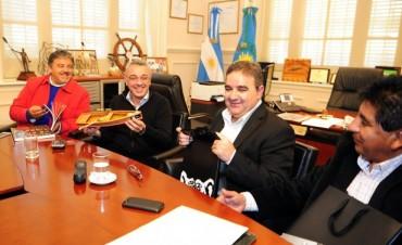 Julio Zamora se reunió con intendentes de Catamarca