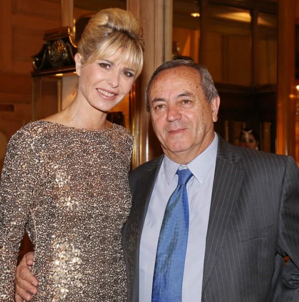Karina Rabolini y el precandidato de Daniel Scioli en Tigre, Roberto Passo, coincidieron en la cena anual de la Fundación Make a Wish.