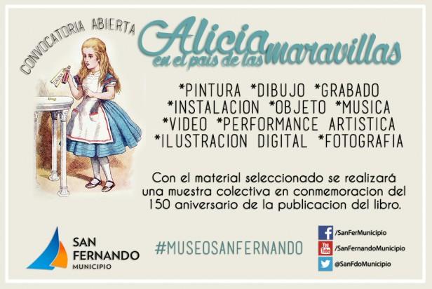 """Última semana de convocatoria para la próxima gran muestra del Museo de San Fernando: """"Alicia en el país de las maravillas"""""""