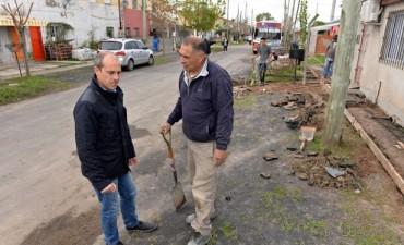 Avanza el Plan Municipal de Mejoramiento del barrio Héroes de Malvinas en San Fernando