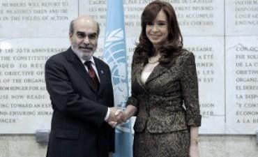 """Ante la FAO, Cristina afirmó que """"el que le presta a un país a tasas"""