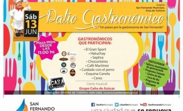 """San Fernando realiza una nueva edición del """"Patio Gastronómico"""""""