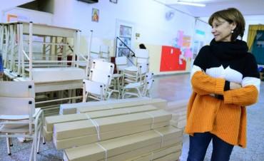 El Municipio de San Fernando equipó otras 10 aulas de 4 escuelas provinciales